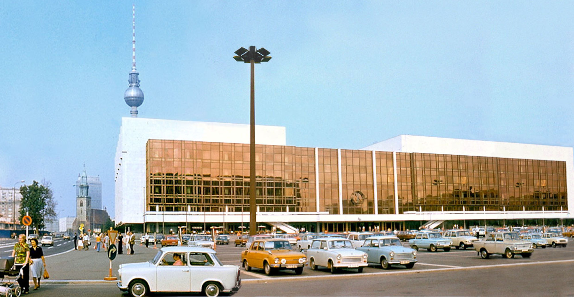 Palast der Republik, 1977. Courtesy: Wikimedia Commons